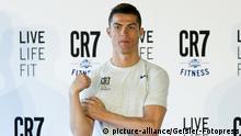 Cristiano Ronaldo präsentiert seine Fitness Center-Kette CR7 Crunch Fitness. Madrid, 13.03.2017   Verwendung weltweit