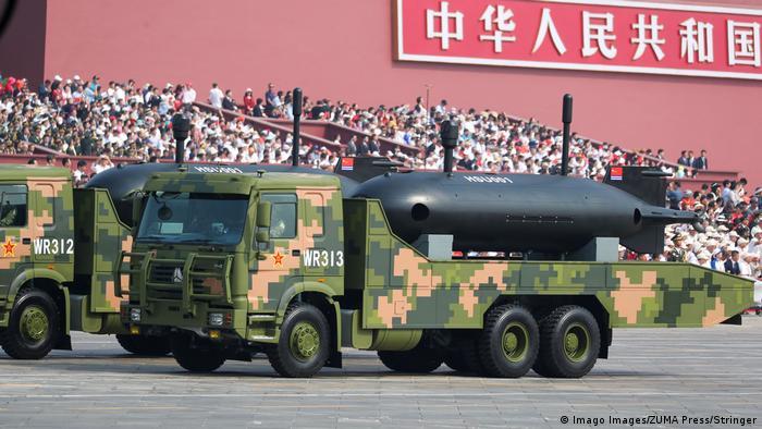 BG Waffensysteme der VR China | AUV HSU 001 (Imago Images/ZUMA Press/Stringer)