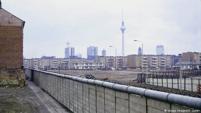 Berlin Wall in 1969