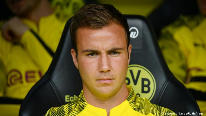 Champions League Mario Gotze Under Pressure For Borussia