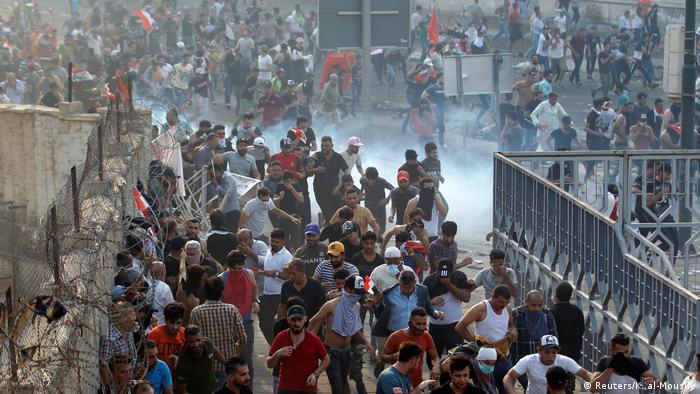 Irak Baghdad gewaltsame Proteste gegen Regierung