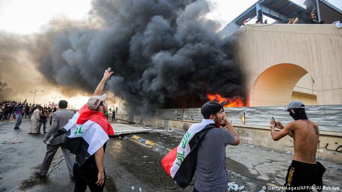 Irak Bagdad | Ausschreitungen und Proteste