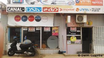Angola   Geschäfte in Luanda (DW/M. Luamba)
