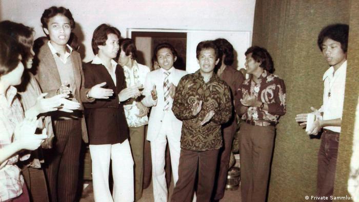 BG DDR Ostberlin Indonesische Botschaft (Private Sammlung)