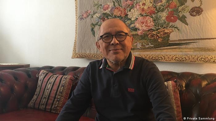 Fauzan Azima von früherer Indonesische Botschaft DDR Ostberlin