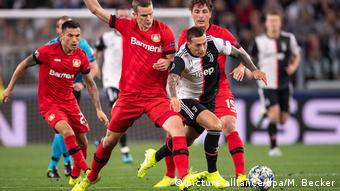 Leverkusen had trouble doing enough with their possession.