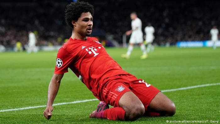 Tottenham Hotspur vs. Bayern Munich - UEFA Champions League - Group B - Serge Gnabry
