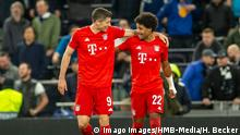 Tottenham Hotspur vs. Bayern Munich - UEFA Champions League - Group B - Serge Gnabry und Robert Lewandowski