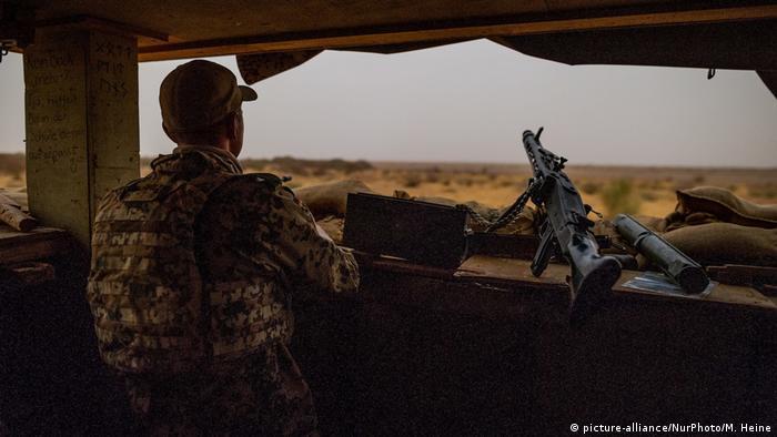 A German soldier in Mali