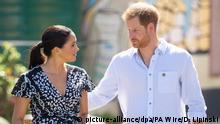 Prinz Harry und Herzogin Meghan auf Afrikareise