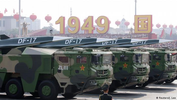 Parade zum 70. Jahrestag Volksrepublik China | DF-17