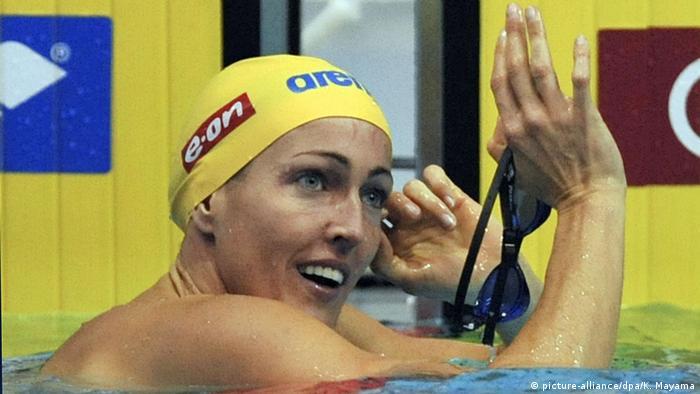 FINA Schwimmen WM 2011 | Therese Alshammar (picture-alliance/dpa/K. Mayama)