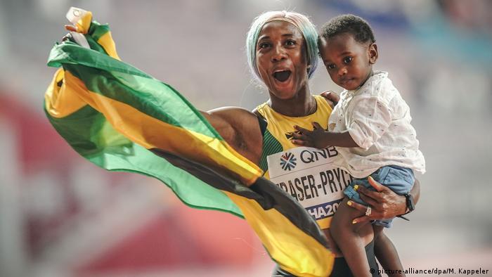 Leichtathletik-WM Doha 2019 | Shelly Ann Fraser Pryce (picture-alliance/dpa/M. Kappeler)