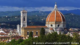 View from Boboli Gardens to Florence Cathedral and Giotto's Campanile (picture-alliance/blickwinkel/M. Hicken)