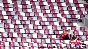 Katar Doha | IAAF World Athletics Championships 2019 - Tribüne (picture-alliance/empics/M. Egerton)