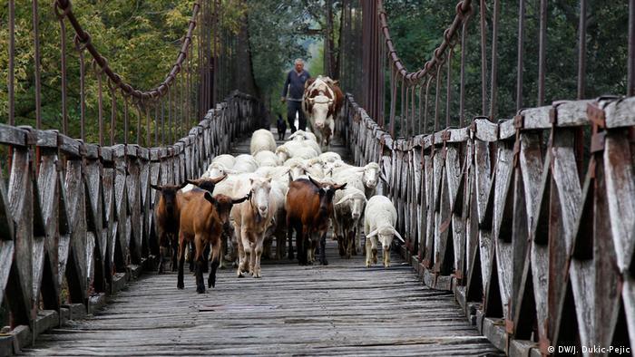 Dušanu Andriću je muka od Zapadne Morave - ali mu ovaj mostić mnogo znači