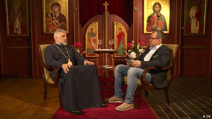 DW-Interview mit Bischof Grigorije Durić (DW)