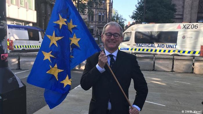 Großbritannien Manchester | Parteitag der Tories (DW/B. Wesel)