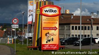 Wilke sausage plant (picture-alliance/dpa/U. Zucchi)