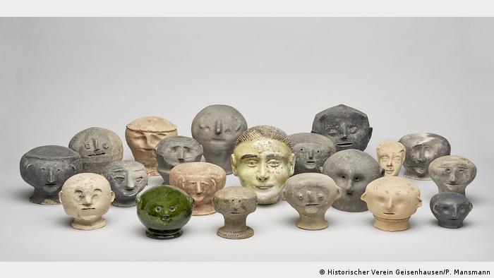 Глиняные головы - символические жертвы