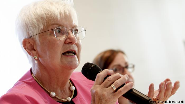 Gerda Hasselfeldt ist Präsidentin des Deutschen Roten Kreuzes (Foto: picture-alliance/dpa/C. Koall)