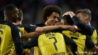 Tschechien Champions League SK Slavia Prague v Borussia Dortmund