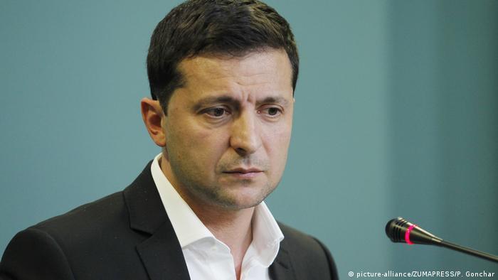 Rais wa Ukraine Volodymyr Zelensky (picture-alliance/ZUMAPRESS/P. Gonchar)