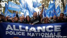 Frankreich Paris | Protest der Polizei gegen schlechte Arbeitsbedingungen