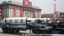 Nordkorea 2017 | Militärparade in Pjöngjang