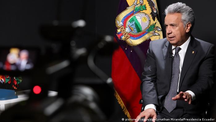 Lenin Moreno, Präsident Ecuador