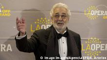 USA Placido Domingo an der Oper von Los Angeles