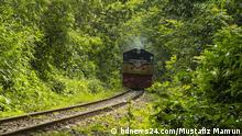 Bangladesch Zug im Lawachara Nationalpark
