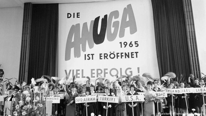 Lebensmittelmesse Anuga 1965
