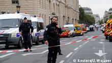 Frankreich Polizei Messerangriff