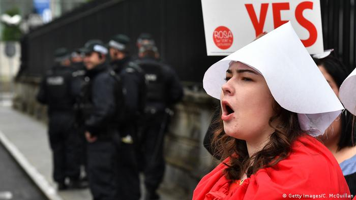 Nordirland | Pro-Choice-Demonstration in Belfast (Getty Images/C. McQuillan)