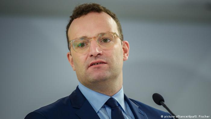 German Health Minister Jens Spahn