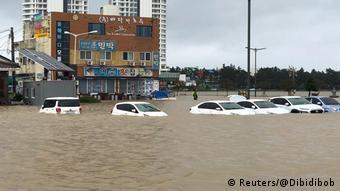 Südkorea Taifun Mitag