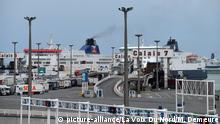 ©PHOTOPQR/VOIX DU NORD - Illustration port de Calais, Calais le 23/09/2019. Photo Marc Demeure/La Voix Du Nord. |
