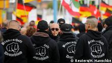Rechtsextremisten Berlin Demo Tag der Deutschen Einheit