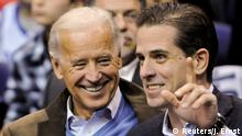 USA Joe Biden mit Sohn Hunter