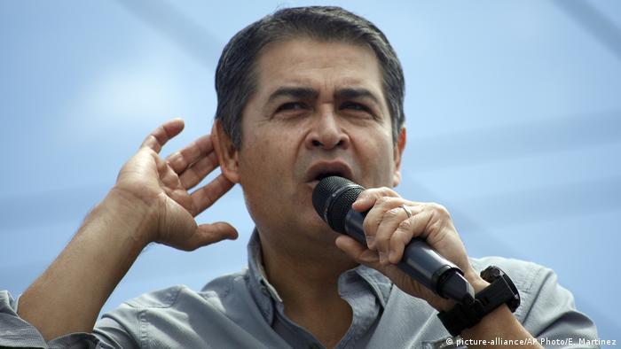 Juan Orlando Hernandez, Präsident von Honduras