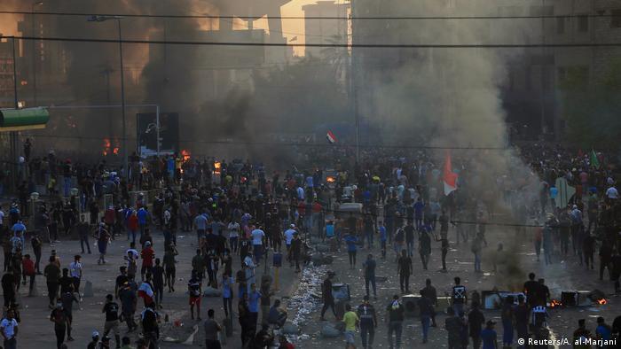 Акція протесту в столиці Іраку