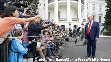 USA Washington Weißes Haus | Präsident Donald Trump
