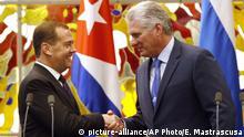 Kuba Havanna | Dmitri Medwedew, Premierminister Russland & Raul Castro