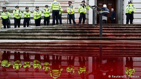 BdTD Großbritannien Extinction Rebellion Protest in London (Reuters/S. Dawson)