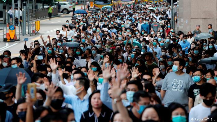Hongkong Anti-Regierungsproteste (Reuters/T. Siu)