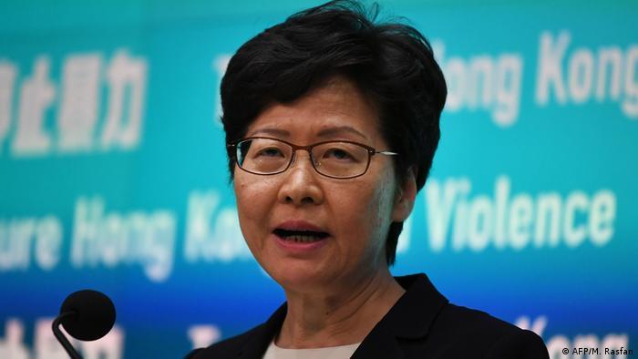 Hong Kong leader Carrie Lam