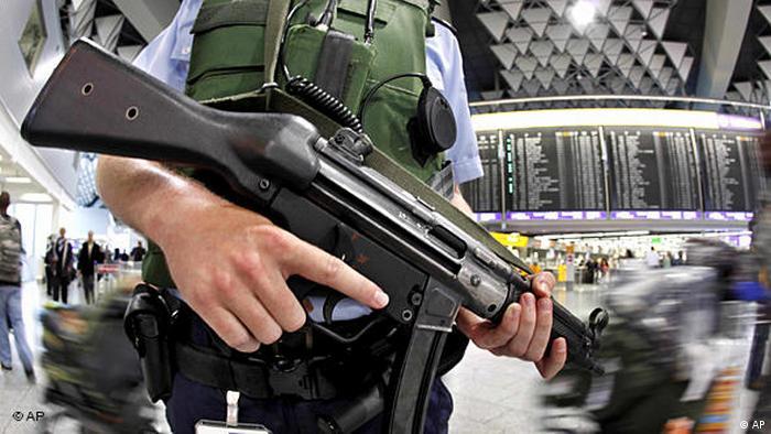 Flughafen Kontrolle Terrorismus