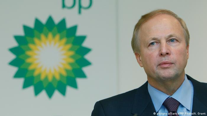 BP-Geschäftsführer Bob Dudley