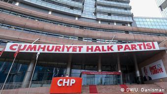 Τα κεντρικά του κόμματος CHP στην Άγκυρα